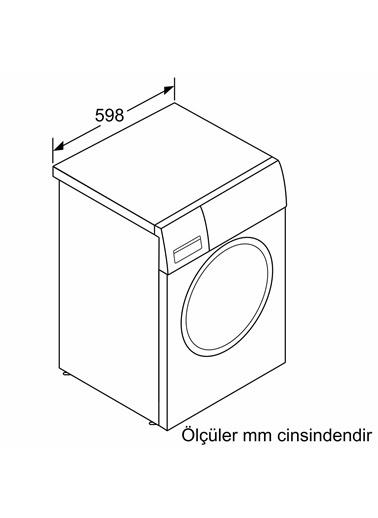 Profilo Profilo Cga242Xvtr A+++ 1200 Devir 9 Kg Çamaşır Makinesi Gri Renkli